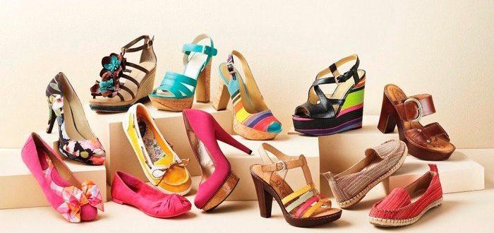 летняя женская обувь